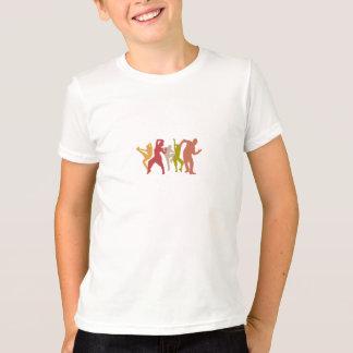 Bunte Dubstep Tänzer T Shirts