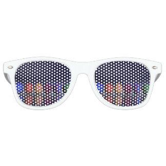 Bunte Eier für Ostern - 3D übertragen Partybrille