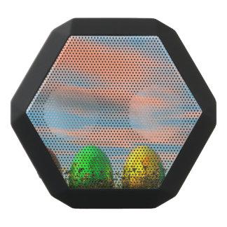 Bunte Eier für Ostern - 3D übertragen Schwarze Bluetooth Lautsprecher