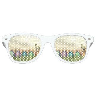 Bunte Eier für Ostern - 3D übertragen Sonnenbrille