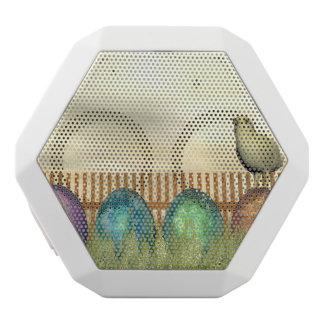 Bunte Eier für Ostern - 3D übertragen Weiße Bluetooth Lautsprecher