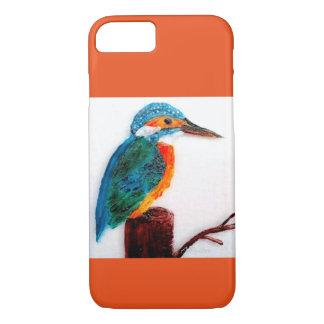 Bunte Eisvogel-Kunst iPhone 8/7 Hülle