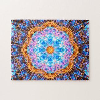 Bunte Energie-Mandala entspannendes | Puzzle