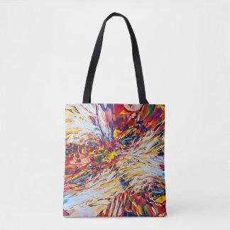 bunte Explosion Tasche