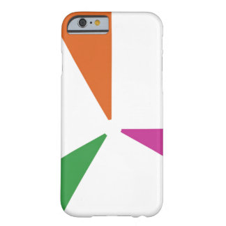 Bunte Farben des Muster-3 Barely There iPhone 6 Hülle