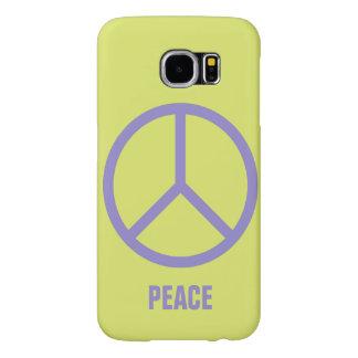 Bunte Friedenszeichen-Gewohnheits-Hüllen