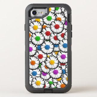 Bunte Gänseblümchen OtterBox Defender iPhone 8/7 Hülle
