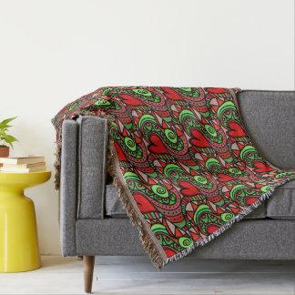 Bunte Gekritzel-Kunst-Decken Decke