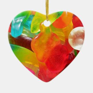 bunte Geleegummibeschaffenheit Keramik Ornament