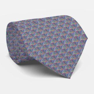 Bunte geometrische abstrakte Krawatte
