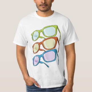 Bunte Gläser T-Shirt