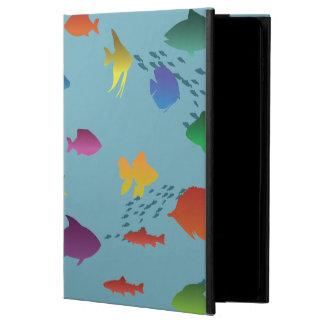 Bunte Gruppe Fische Unterwasser