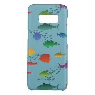 Bunte Gruppe Fische Unterwasser Case-Mate Samsung Galaxy S8 Hülle