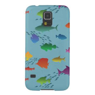 Bunte Gruppe Fische Unterwasser Samsung S5 Hülle