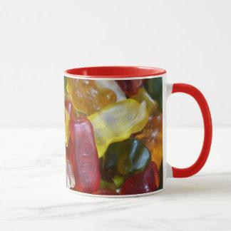 Bunte Gummie Süßigkeits-Tasse Tasse