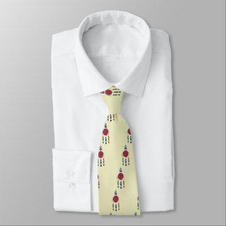 bunte hängende Blumen Krawatte
