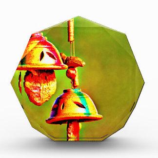 Bunte hölzerne Glockenspiele Acryl Auszeichnung