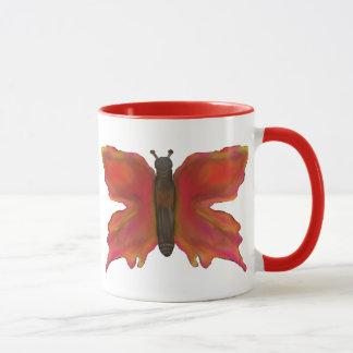 Bunte hübsche Schmetterlings-Tasse Tasse