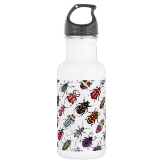 Bunte Käfer Trinkflaschen