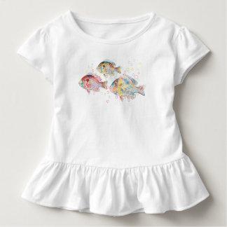 Bunte Karpfen Kleinkind T-shirt
