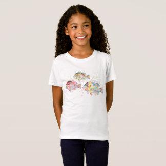 Bunte Karpfen T-Shirt