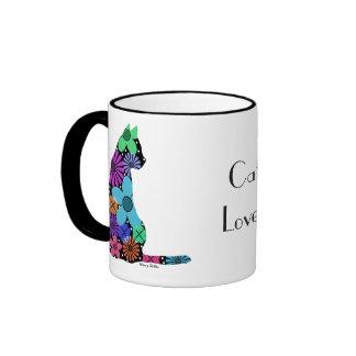 Bunte Katzen-Tasse