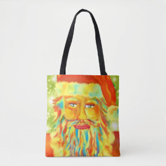 Bunte Klaus-Kunst Tasche