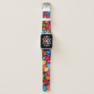 Bunte Knopf-Süßigkeit Apple Watch Armband