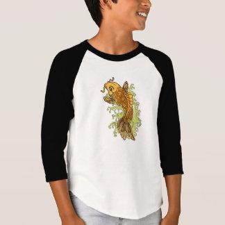 Bunte Koi Illustration T-Shirt