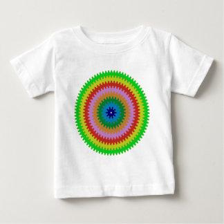 Bunte Kreis-Gang-Stier-Augendiagramm-Geschenke Baby T-shirt