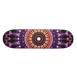 Bunte Kreis-Mandala 20,1 Cm Skateboard Deck
