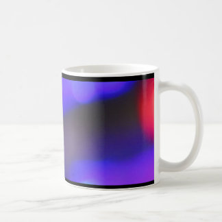 Bunte LED-Lichter Kaffeetasse