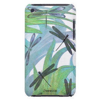 Bunte Libellen-abstrakte Gewohnheit Case-Mate iPod Touch Case