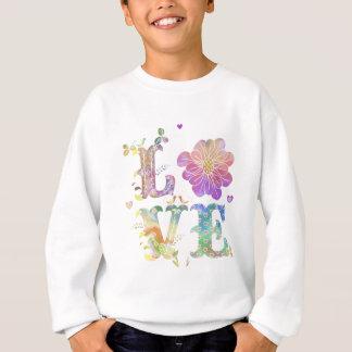 Bunte Liebe Sweatshirt