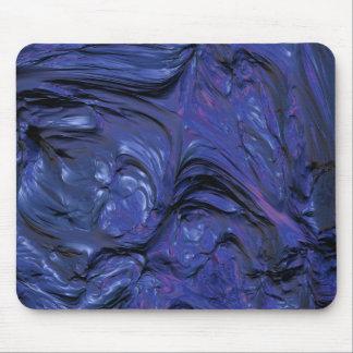 Bunte lila blaue Farbe mit schwerer Beschaffenheit Mousepad