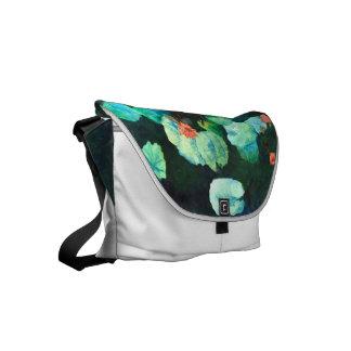 Bunte Lilien-Bote-Tasche Kuriertasche