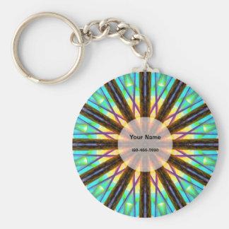 Bunte Mandala Schlüsselanhänger