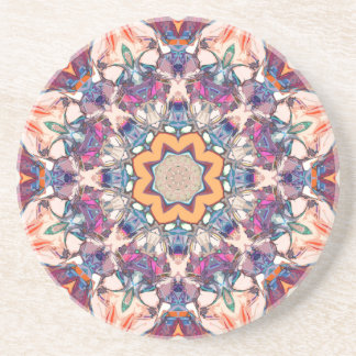 Bunte Mandala Untersetzer