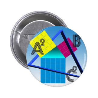 Bunte Mathematik Runder Button 5,7 Cm
