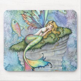 Bunte Meerjungfrau-und Mousepad