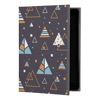 "Bunte moderne geometrische Dreiecke iPad Pro 9.7"" Hülle"