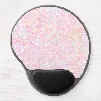 Bunte moderne Schnüre - Perlen-Pastell Gel Mousepad