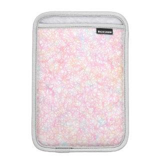 Bunte moderne Schnüre - Perlen-Pastell iPad Mini Sleeve