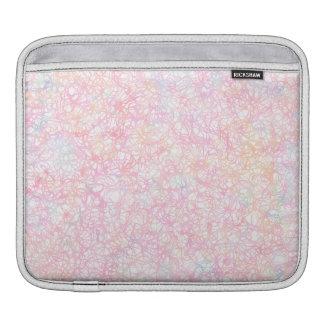 Bunte moderne Schnüre - Perlen-Pastell iPad Sleeve