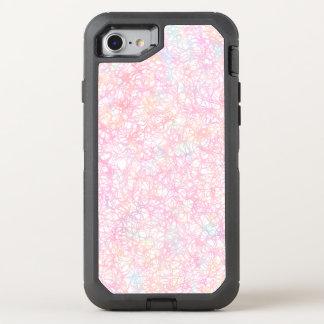 Bunte moderne Schnüre - Perlen-Pastell OtterBox Defender iPhone 8/7 Hülle