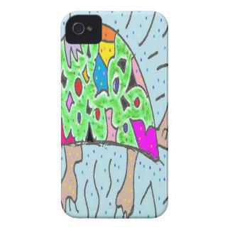 Bunte Muschel-Schildkröte iPhone 4 Cover
