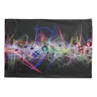 Bunte Musik-Art Kissenbezug