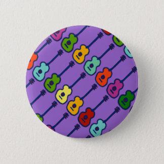 bunte Musikinstrumente Runder Button 5,7 Cm