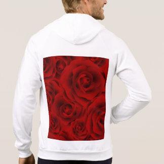 Bunte Muster-Rose des Sommers Hoodie