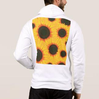 Bunte Mustersonnenblume des Frühlinges Hoodie